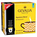 gevalia mild k cups - Gevalia Kaffe Signature Blend Mild-Medium Roast Coffee K-Cups 18 ct