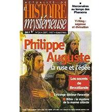 Philippe auguste (actualité de l'histoire mystérieuse n°26)