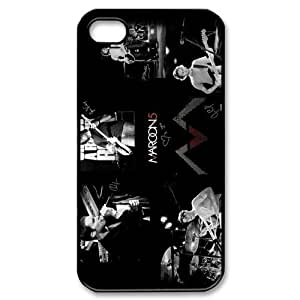 Customize Maroon 5 Iphone 4/4S Case Hard Custom Case for Apple IPhone 4/4S