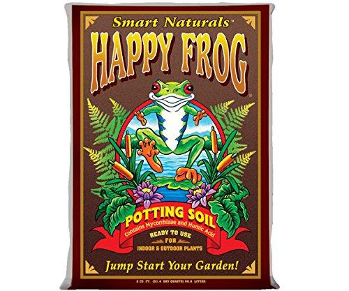 Fox Farm FX14081 Happy Frog, 2 Cubic Feet Potting Soil, Brown