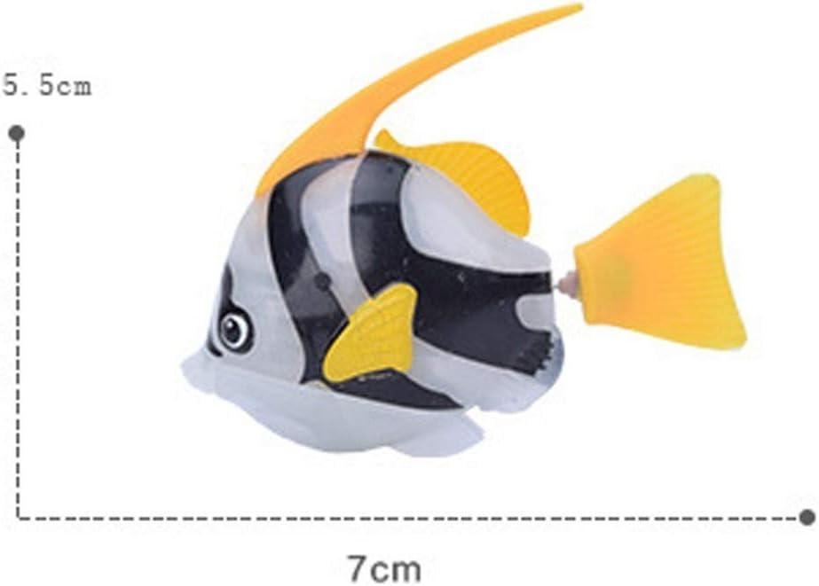 Akemaio Nataci/ón de los Pescados del Robot para Ni/ños M/ágico electr/ónica Ba/ño Educaci/ón Juguete Divertido Gadgets Interesante Regalo Juguetes Activado en Agua de Juguete