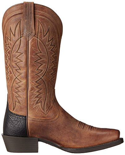 Ariat Mens Troubadour Western Cowboy Boot Powder Brown LYvFRvU