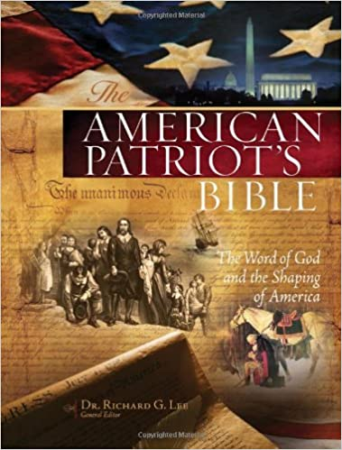 The NKJV, American Patriot's Bible, Hardcover: The Word of