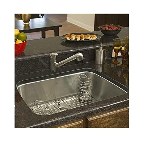 Franke USA Large Single Bowl Stainless Steel Undermount Kitchen Sink