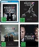 House of Cards - die komplette Staffel 1-4 im Set - Deutsche Originalware [16 Blu-Rays]