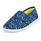 K KomForme TSB010-5M Canvas Sneakers