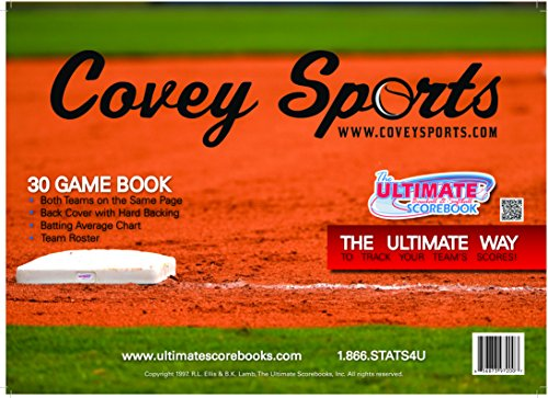 l/Softball Side by Side Scorebook (30 Games) (Official Game Softball)