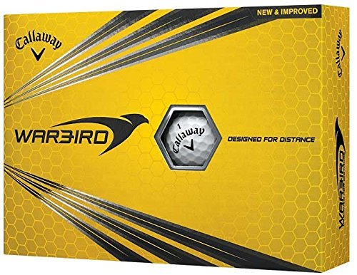 (Callaway Warbird Golf Ball, Prior Generation, (One Dozen), White (Renewed))