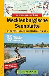 Bruckmanns Radführer Mecklenburgische Seenplatte: 25 Tagesetappen mit Karten 1:75.000