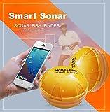 Ecosin Smartphone Wireless Sonar Fish Finder Sea Lake Fish Detect