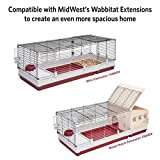 MidWest Homes for Pets 158 Wabbitat Deluxe Rabbit