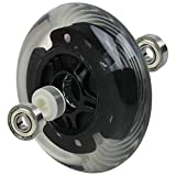 L.E.D. Scooter Wheels with ABEC 9 Bearings for