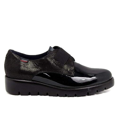 CALLAGHAN - Zapato - Elástico - Charol - Negro - Adaptation - 40: Amazon.es: Zapatos y complementos