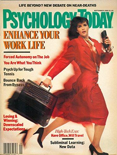 Psychology Today (Vol.22 No. 9 September 1988)