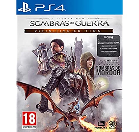 Sombras De Guerra Definitive Edition: Amazon.es: Videojuegos