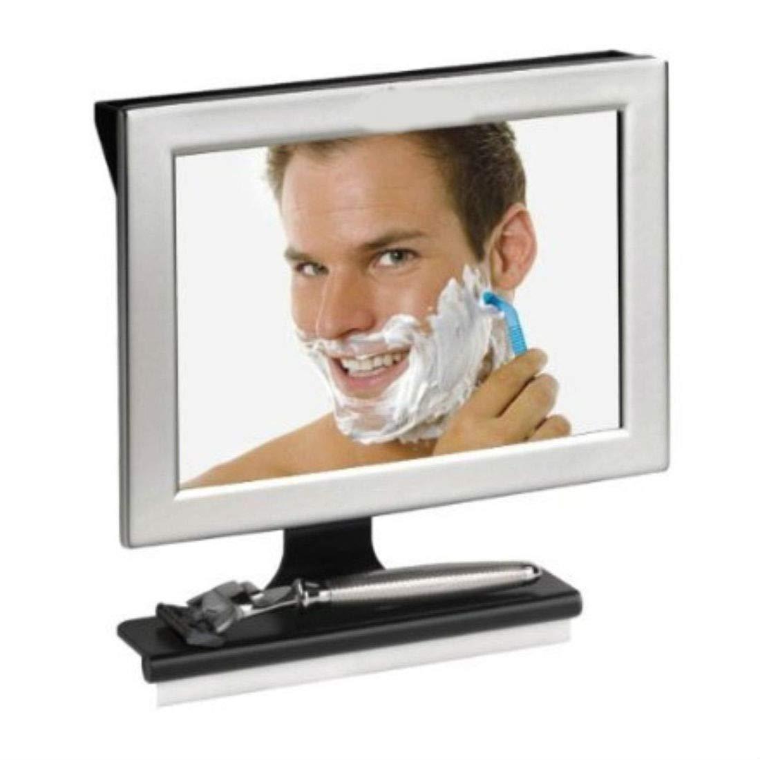 Fogless Shaving Mirror Shower Bath Anti No Fog Bathroom & Wiper