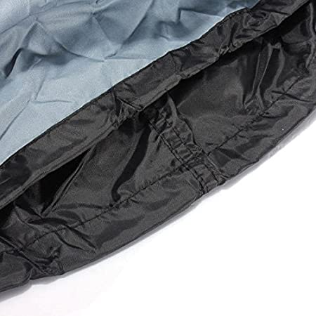 Small 145x61x117cm Grillabdeckung Grill Abdeckhaube Wasserdicht 600D Oxford BBQ Cover Schutzh/ülle