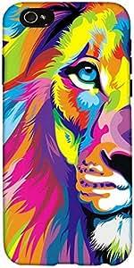 Snoogg León Pintura Diseñador De Protección De Nuevo Caso Para El Iphone 6