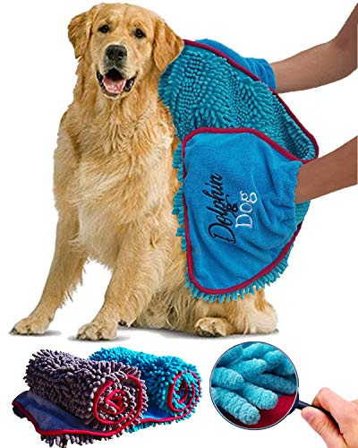Dolphin & Dog – Towel for Dogs