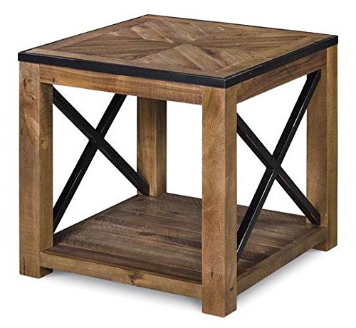 - Magnussen T2386-03 Penderton Wood Rectangular End Table