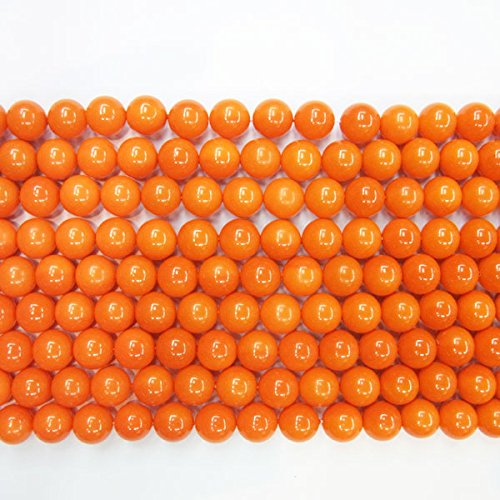 Coral 10mm Round Beads - 5