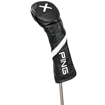 Amazon.com: Ping piel Headcover 2018 híbrida negro: Sports ...