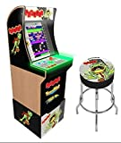 Arcade1Up Frogger Home Arcade Machine, 3 Games In