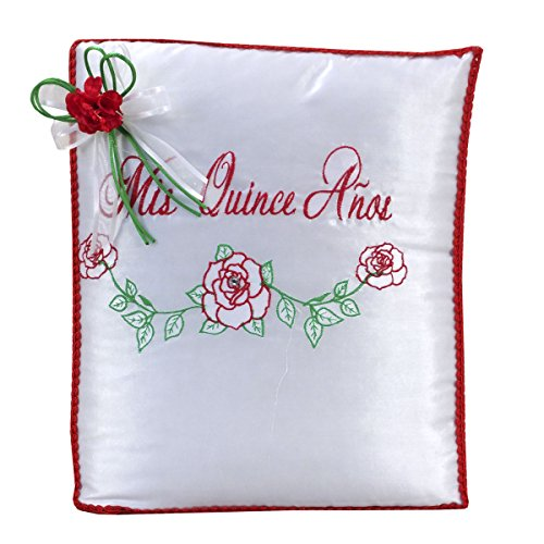 Quinceanera Doll Set with Guest Book Kneeling Tiara Pillow Photo Album Bible Q1060 (Basic set + English bible) by Quinceanera (Image #2)