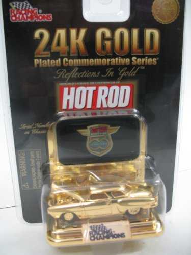 (Hot Rod's 24K Gold Commemorative 1:64 1950 Ford Victoria Coupe)