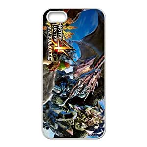 iPhone 5 5s Cell Phone Case White Monster Hunter 4 Ultimate JSK748768