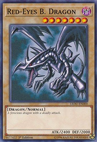 Yugioh 1st Ed Red-Eyes B. Dragon LEDU-EN000 Common Rare 1st Edition Legendary Duelists Cards (Gi 1st Oh Yu Cards Edition)