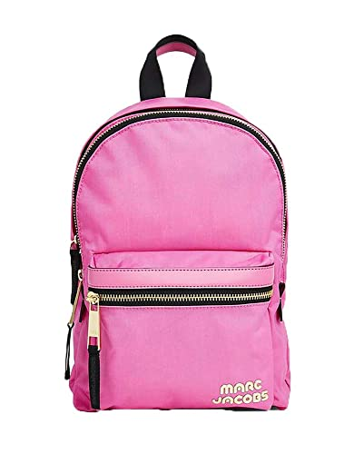047586f1bac3 Amazon.com  Marc Jacobs Vivid Pink Trek Pack Medium Backpack  Shoes
