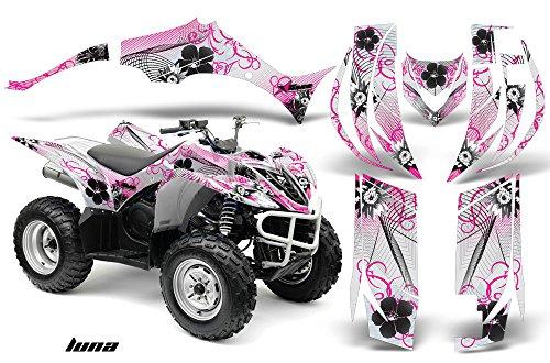 Yamaha Wolverine 450 2006-2012 ATV All Terrain Vehicle AMR Racing Graphic Kit Decal LUNA PINK -  YAM-WOLVERINE450-06-LUNA-P