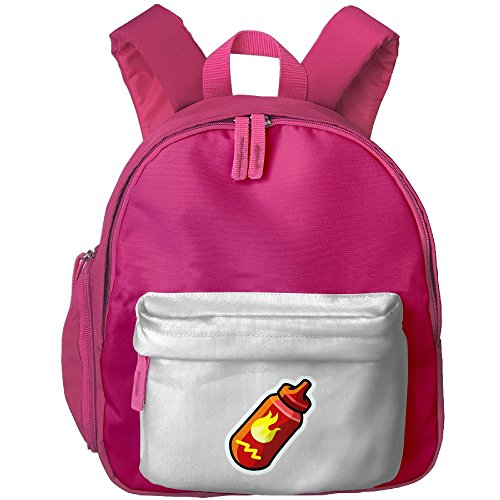 Cute Kids Backpack Hot Sauce Lovely Satchel Mini Sidekick Backpack Best For Children's Travel Activity Hot Pink Sidekick