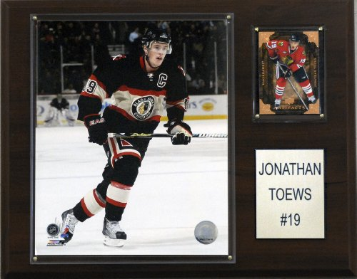 NHL Jonathan Toews Chicago Blackhawks Player Plaque