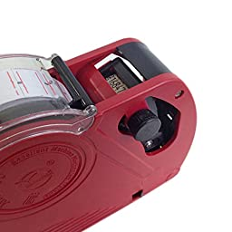 Metronic Mx5500 EOS Red 8 Digits Labeler Price Tag Gun Labeller Included Labels & Ink Refill