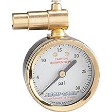 Meiser Presta-Valve Dial Gauge Pressure Relief 30psi