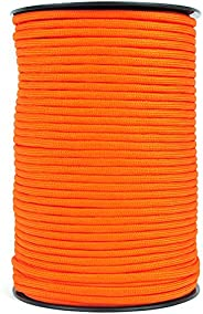 100M Parachute Cord Roll 550 Type Paracord Lanyard Rope 9 Strand Cores Outdoor Rescue Tent Hiking Rope Roll Pa