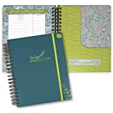 """Boxclever Press Budget Planner - Check Out The Video! Measures 9.5"""" x 8"""". Start Using Any time. Monthly Income and Home Expenditure Tracker, Regular Bill Organizer, 13 Pockets for Receipts and Bills."""
