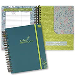 Our Boxclever Press Big Budget Planner / Organizer is the best notebook for planning your personal and home office finances throughout the year. Log your income and then track your expenditure throughout the month. This helps to ensure that y...