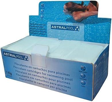 Astralpool 11390 Clarificante Sólido en Bolsitas, Blanco, 10x20x7 cm