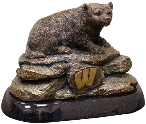 NCAA College Wisconsin Badgers Desktop Statue (Level Tests Theme)