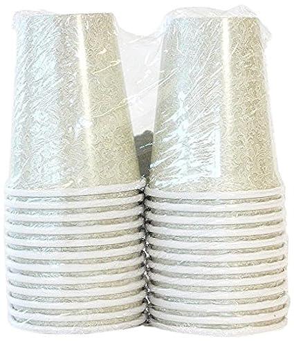 Lillian Tablesettings 24-Piece Twin Stack Paper Cups Set 9-Ounce Cream  sc 1 st  Amazon.com & Amazon.com: Lillian Tablesettings 24-Piece Twin Stack Paper Cups Set ...