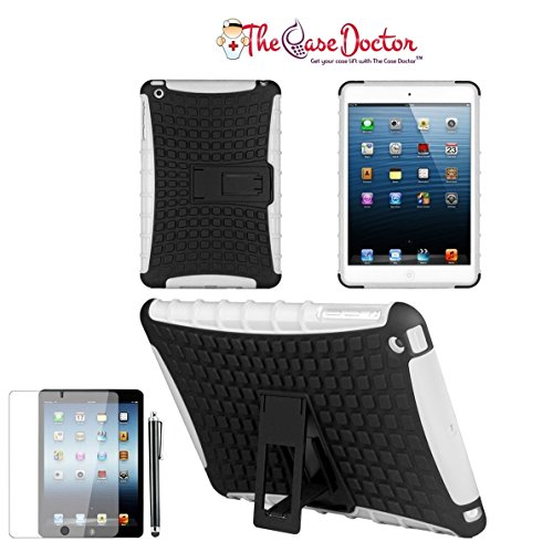 TCD for iPad Air 1 [iPad 5] Hybrid Grenade Armor Series w/ Kickstand Multiple Layers [Soft Silicone & Hard TPU Plastic] 2 in 1 Design High Impact Protection & Kickstand