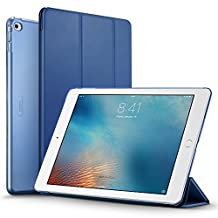 iPad Air 2 Case, iPad Air 2 Cover, iPad Air 2 Cases and Covers, ESR Yippee Color Series Smart Cover+Transparent Back Cover [Auto Wake Up/Sleep Function]for[2014 Release] iPad Air 2(Navy Blue)