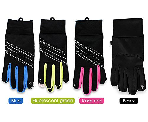WATERFLY Cycling Gloves Touch screen gloves for Driving traveling Outdoor sports, Windproof