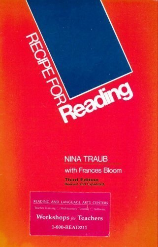 Recipe for Reading (Revised and Expanded) by Traub, Nina Published by Educators Publishing Service 3rd (third) edition (2000) Spiral-bound