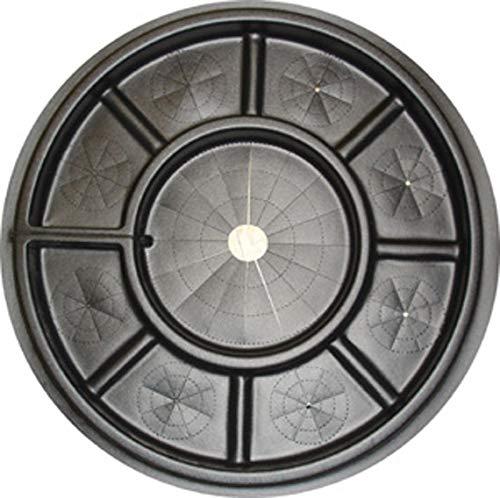 (Matscape Lawn, Garden, Landscape Edging Ring (Black Plastic, Set of 2, 28 Inch in Diameter))