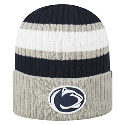Top of the World NCAA Sub-Zero Cuffed Knit Beanie Hat-Penn State Nittany Lions