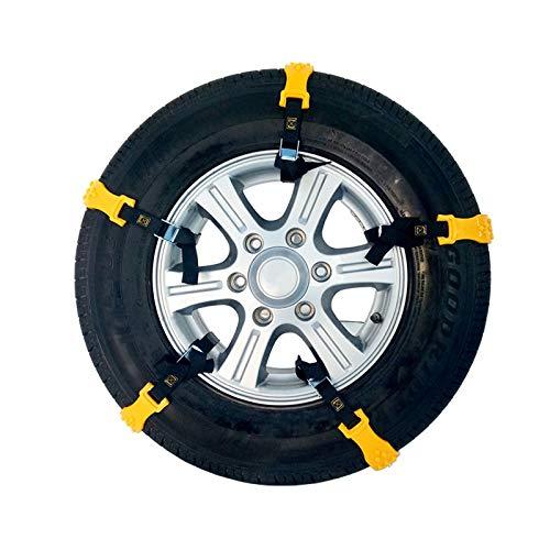 Ocamo 10 unids/Set Cadenas de neumáticos de Nieve del Coche Cadena ...